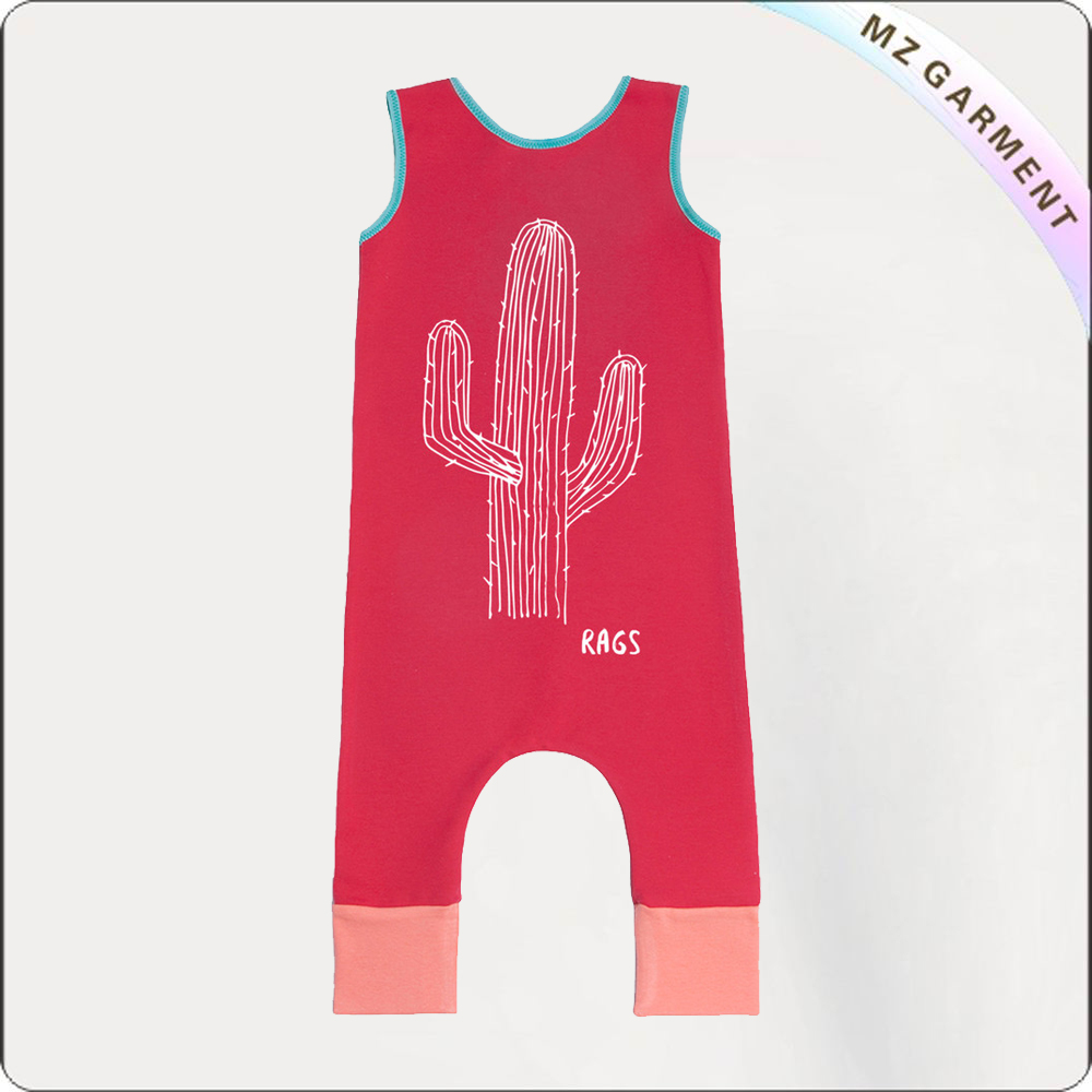 Kids Cochineal Snapsuit