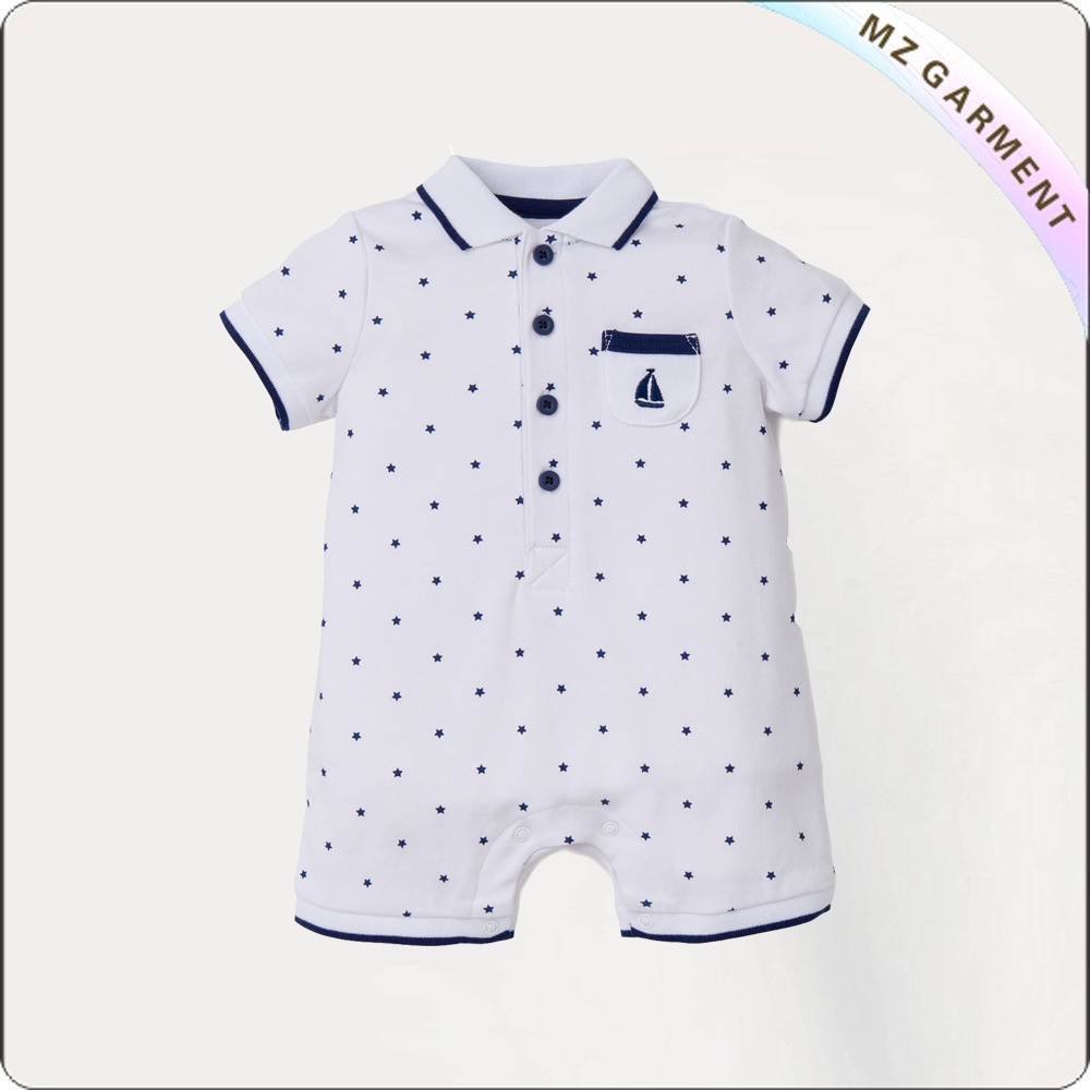 Kids Little Star Playsuit