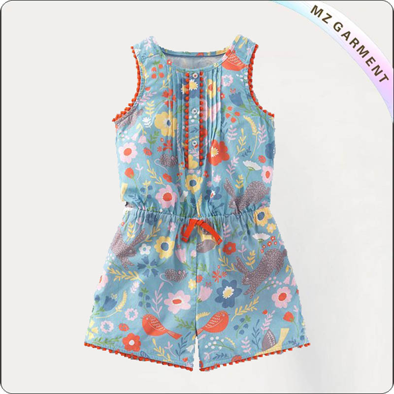 Kids Ramage Playsuit