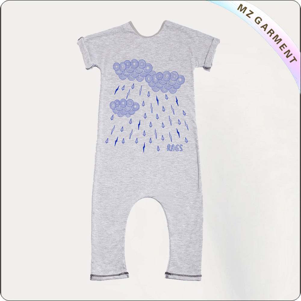 Kids Thundershower Snapsuit