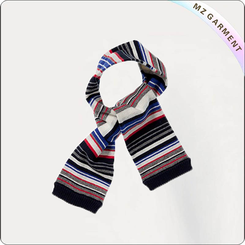 Girls Fine Stripe Scarves