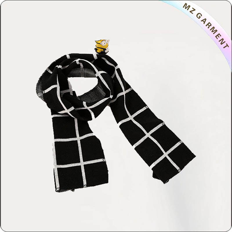 Kids Plaid Scarves