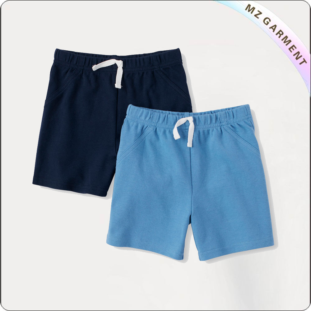 Boys Light Blue Lounge Shorts