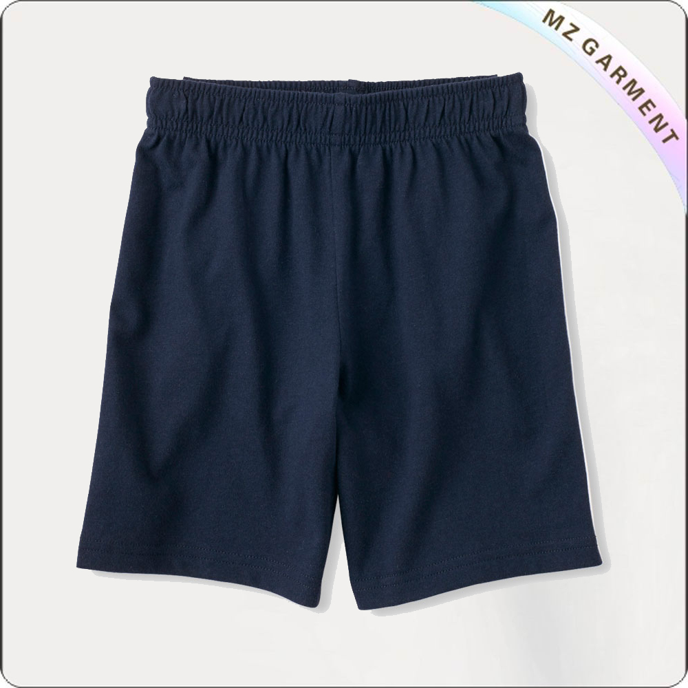 Boys Navy Bermudas Shorts