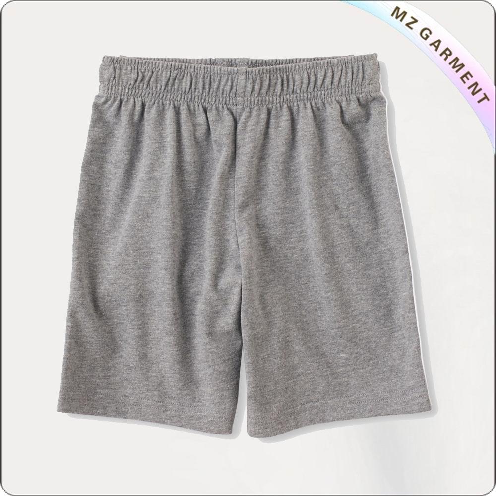 Girls Ash Grey Shorts