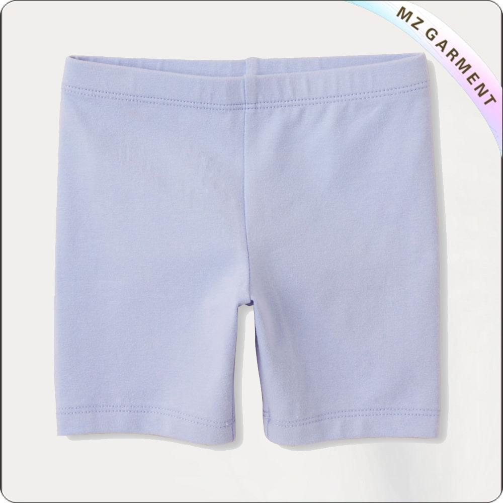 Girls Lavender Bermuda Shorts