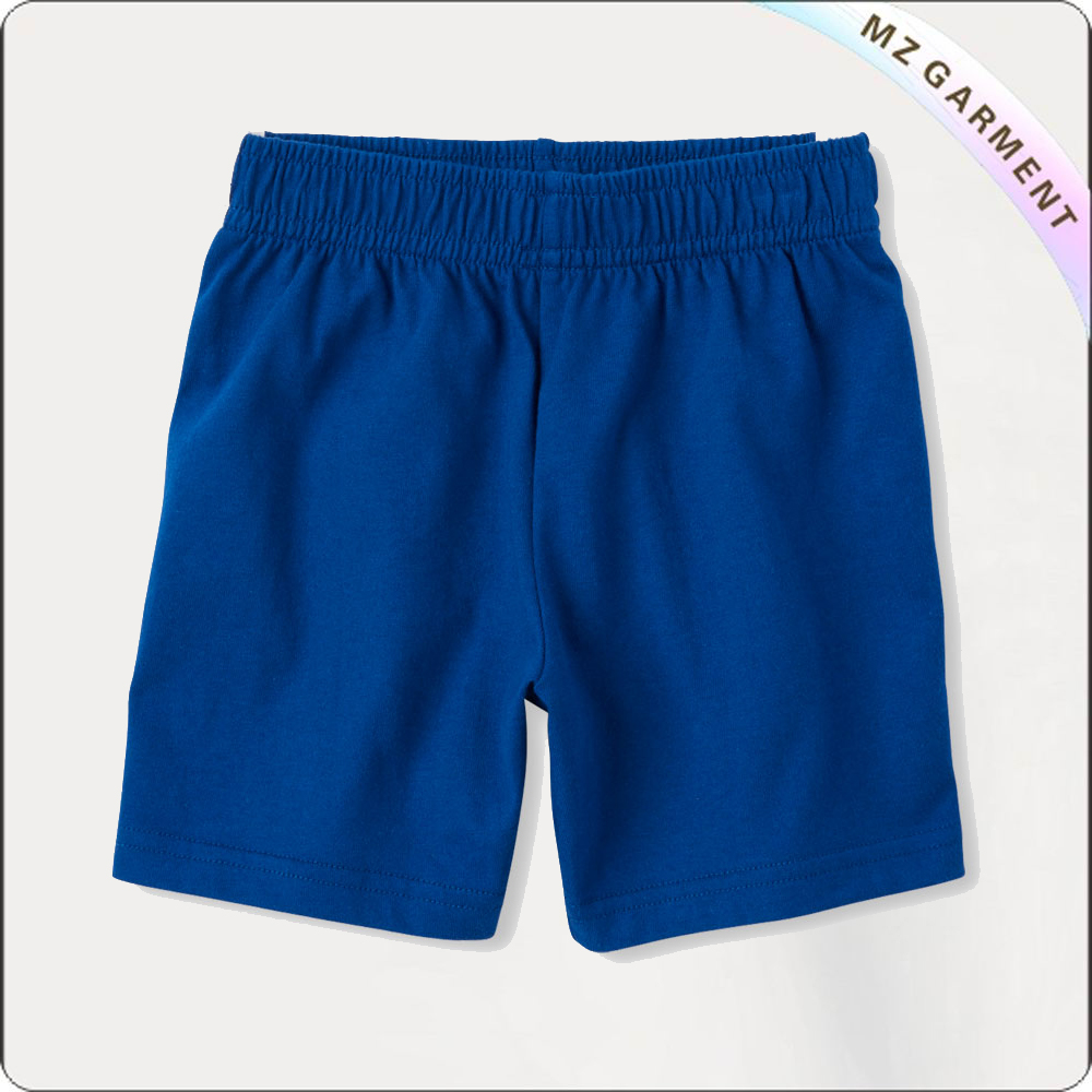 Girls Ocean Blue Bermuda Shorts