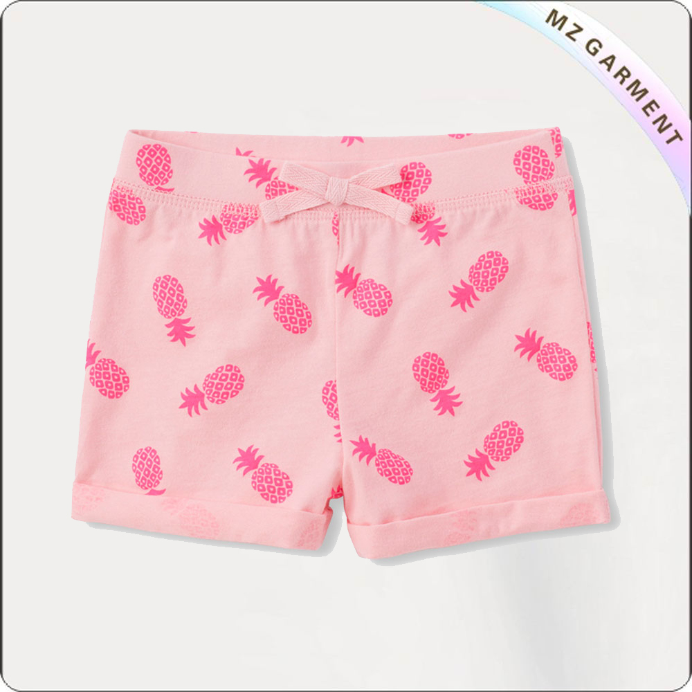 Girls Pineapple Boyshorts