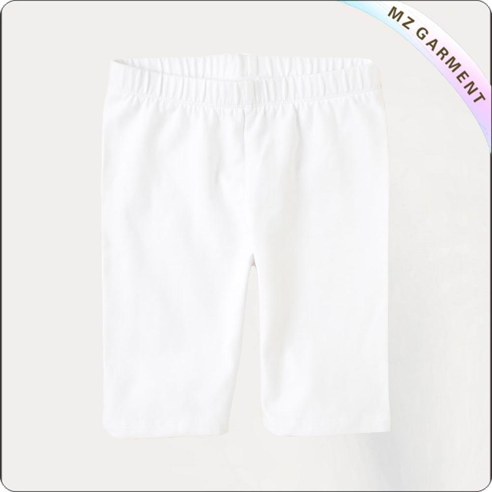 Girls Snow White Bermuda Shorts