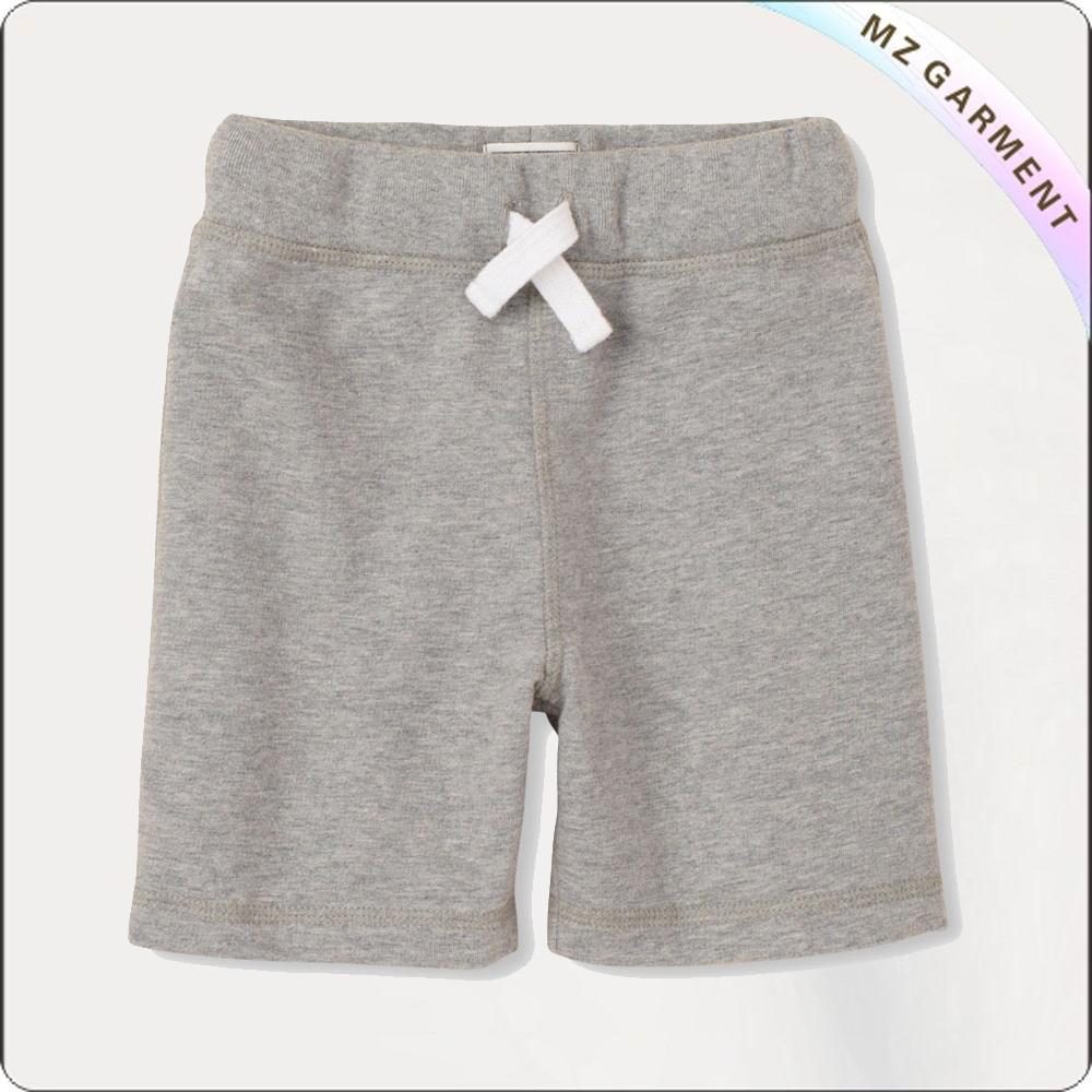 Girls Waist Drawstring Shorts