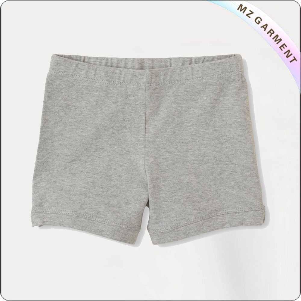 Kids Light Grey Boyshorts