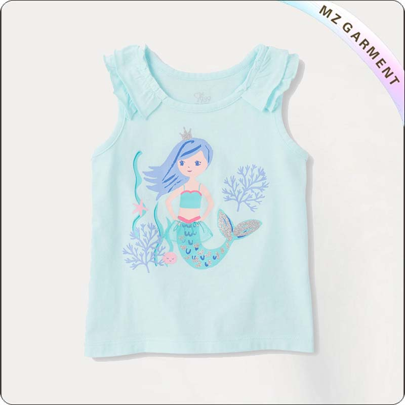 Girls Bluish Mermaid Unmentionable