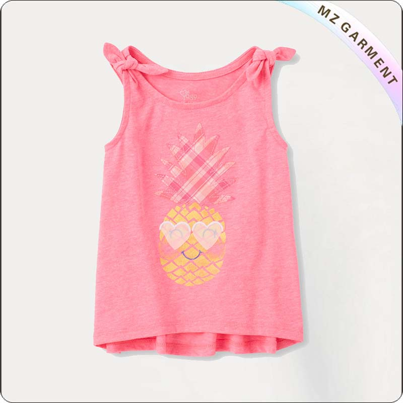 Kids Rose Pink Tank Top