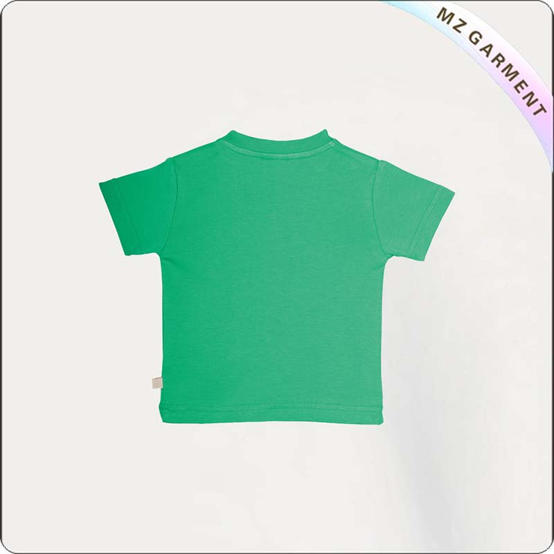 Boys Jade Green T-Shirt