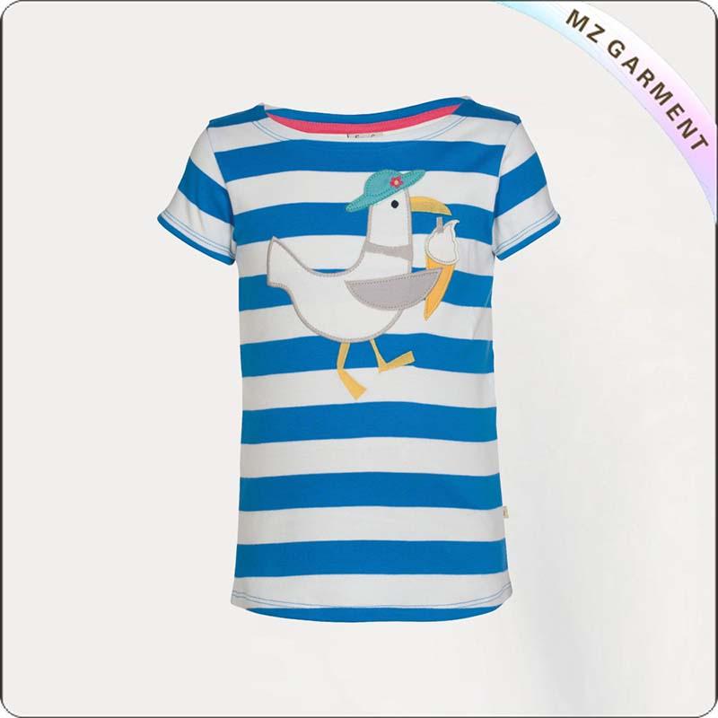 Children Blue Atoll T-Shirt