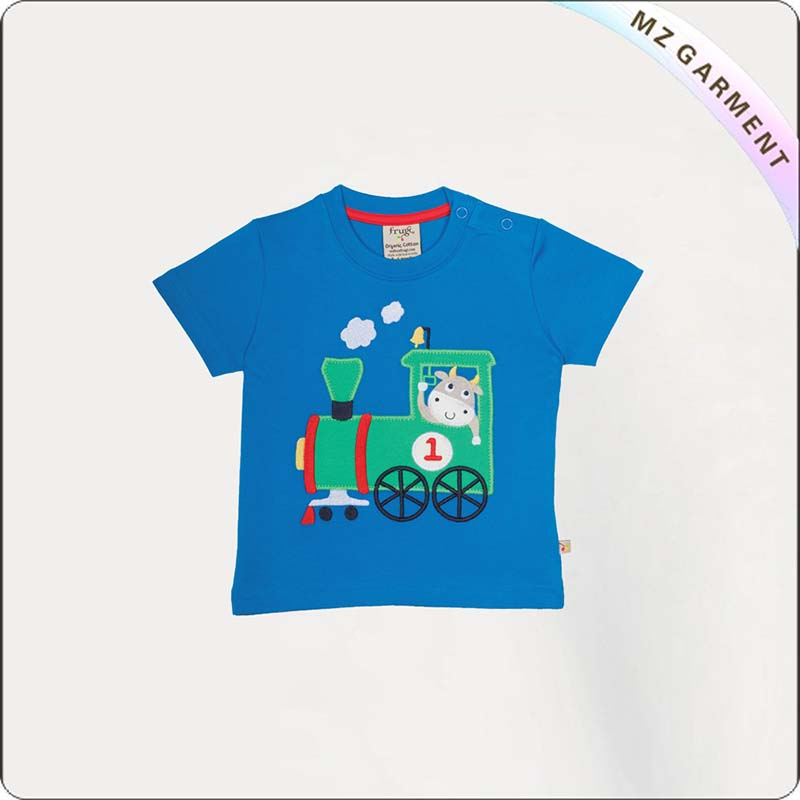 Kids Cobalt Blue T-Shirt