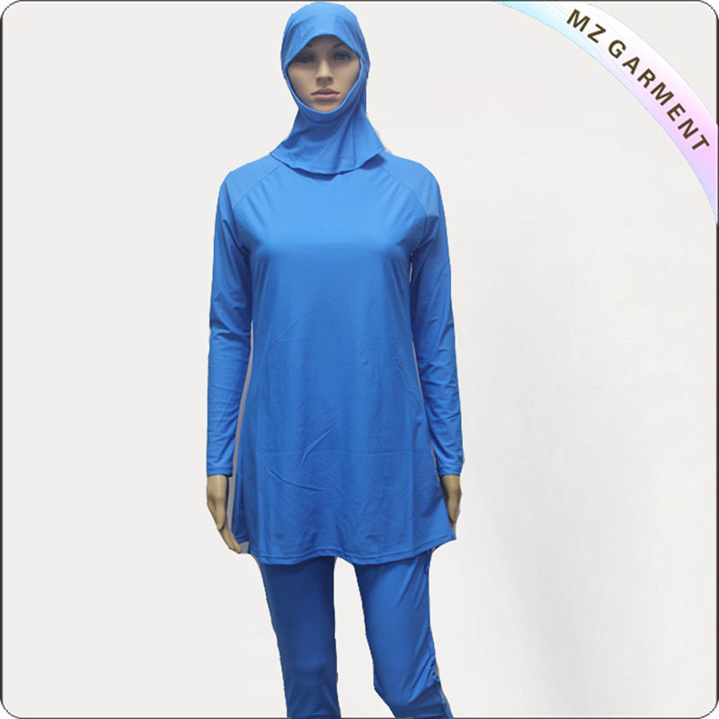 Miss Blue Modest Swim Wear