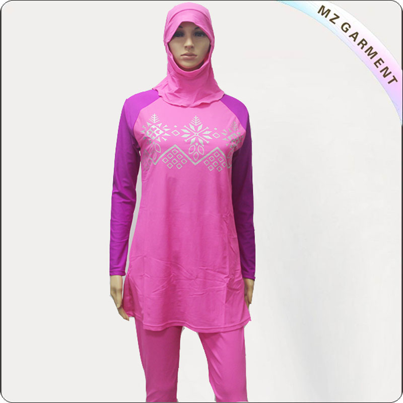 Pink Veilkini