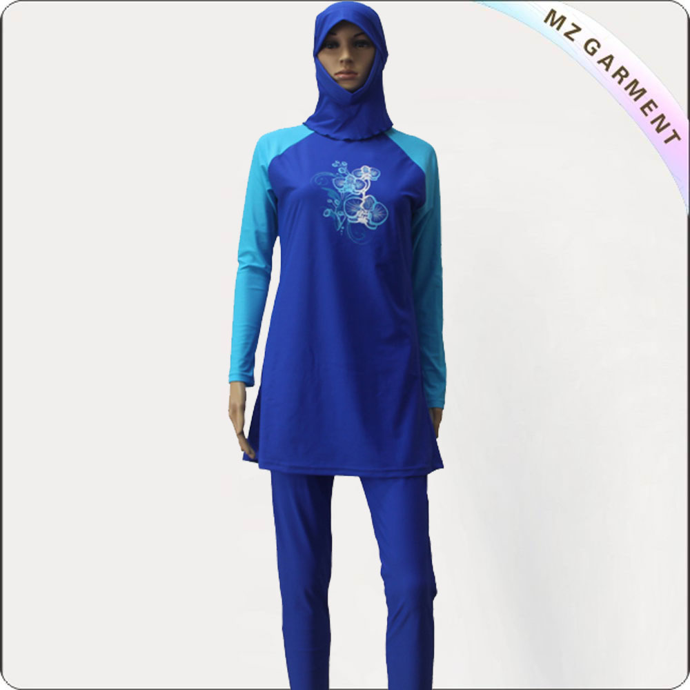 Simple Muslim Swimsuit