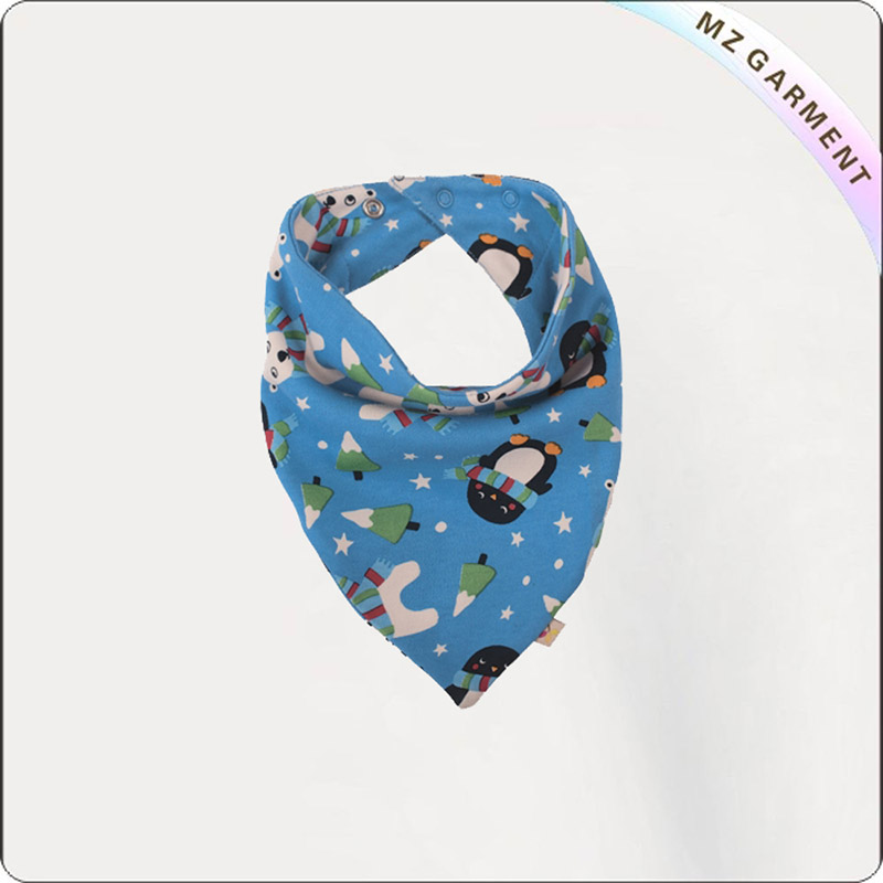 Children Organic Cotton Bandana Bib