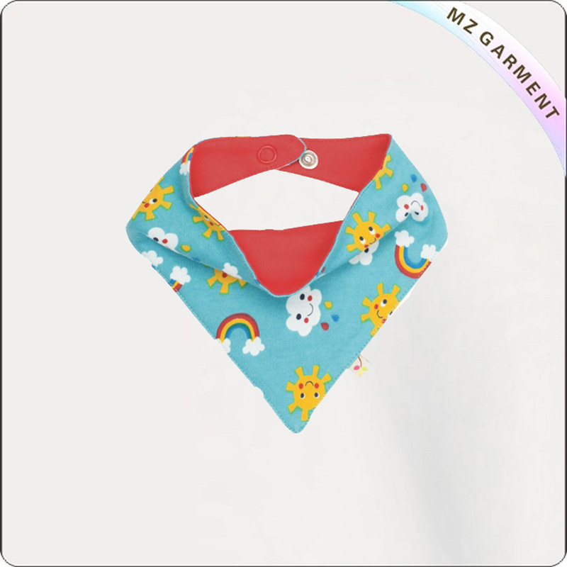 Kids Azure Eco Friendly Dribble Bib