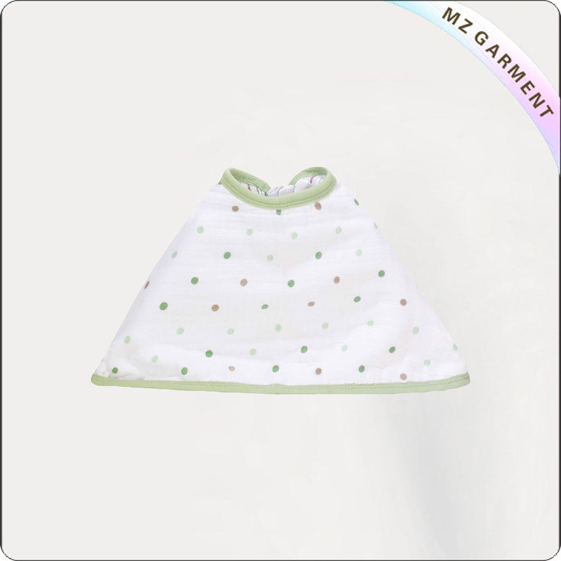 Kids Environmental Drool Polka Dot Bib