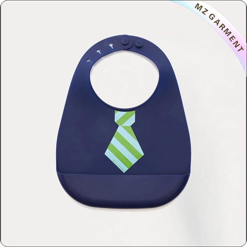 Kids Organic Necktie Bib