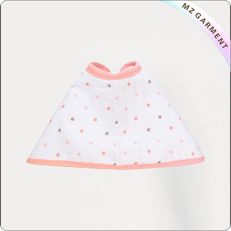 Kids Polka Dot Eco Drool Bib