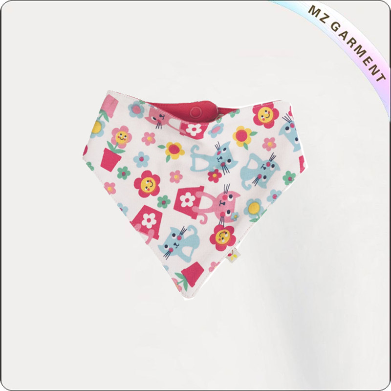 Kids Ramage Organic Bandana Pinny