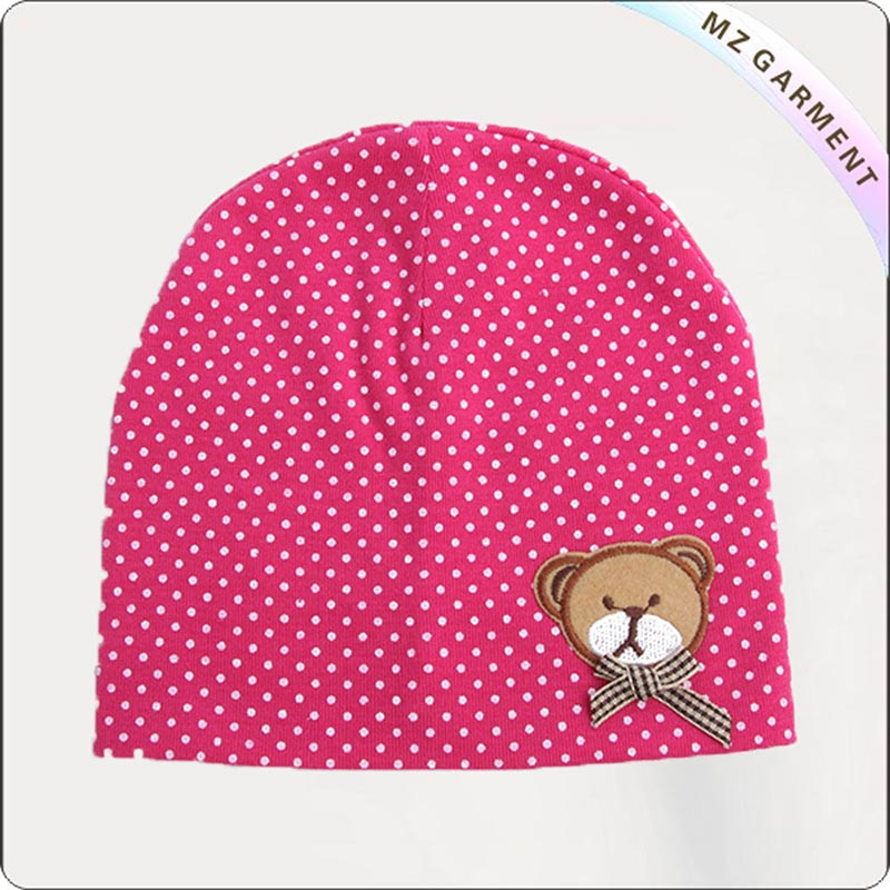 Kids Ecological Pin Dot Skullcap