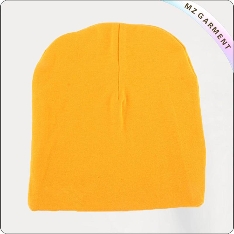 Kids Organic Lemon Yellow Cap