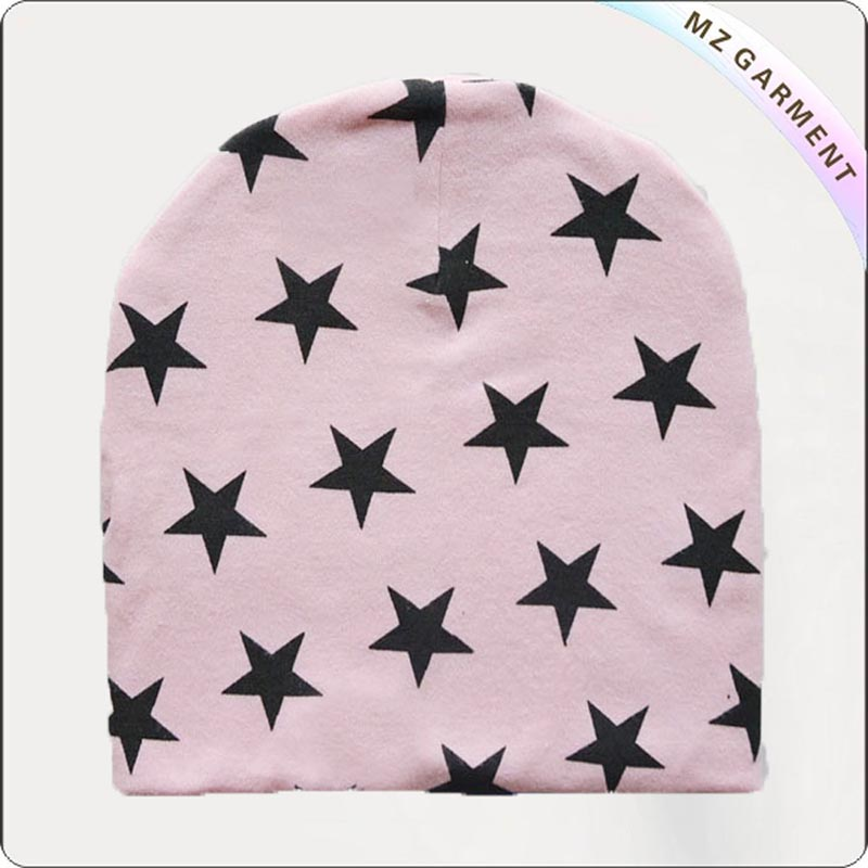 Kids Pink Environmental Skullcap