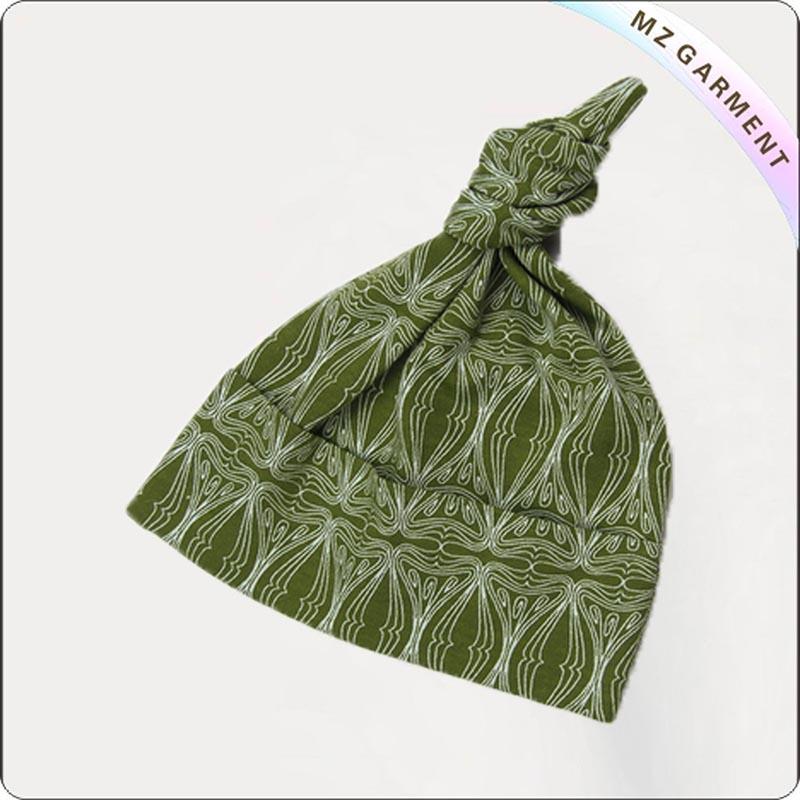 Toddler Organic Olive Green Skullcap