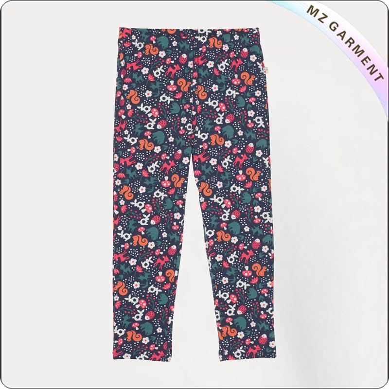 Girls Eco Friendly Light Weight Slim Pants