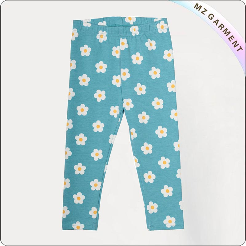 Kids Eco Friendly Azure Skinny Pants