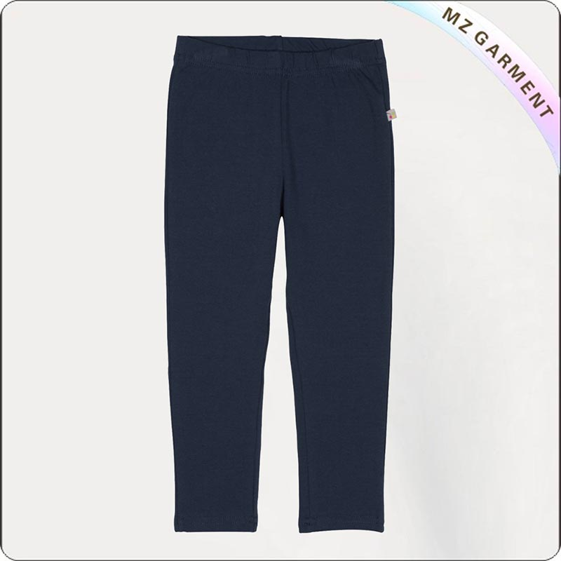 Kids Ecological Plain Skinny Trousers