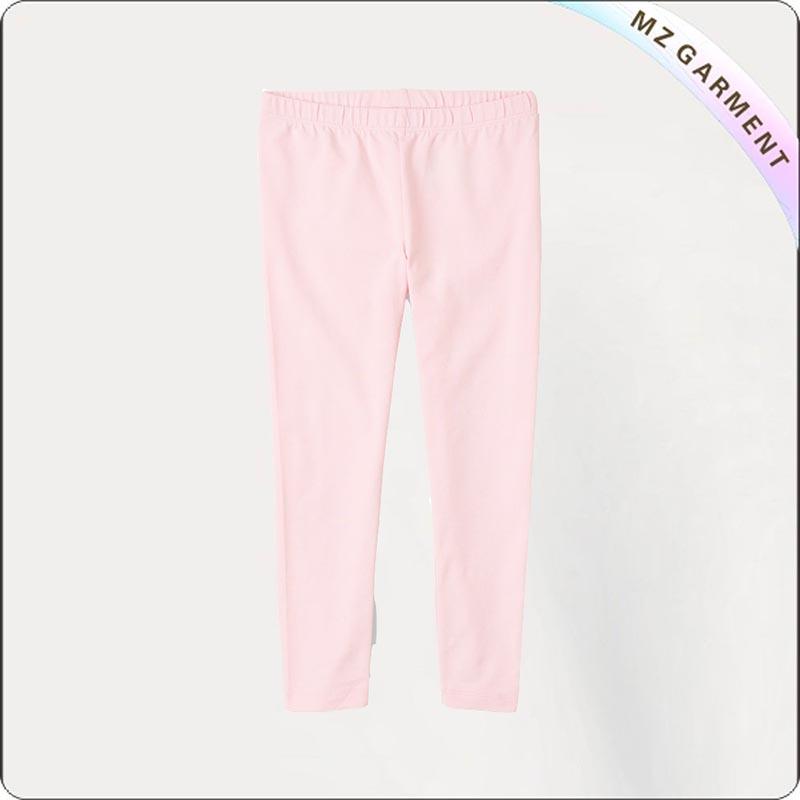 Kids Organic Blossom Pink Leggings