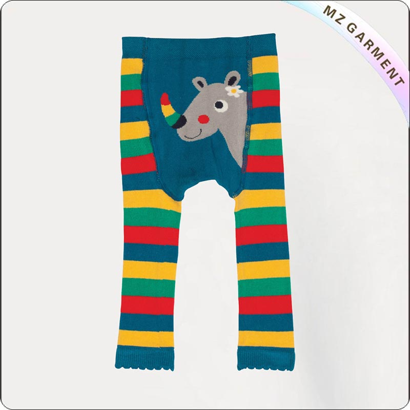 Kids Organic Rainbowing Skinny Pants