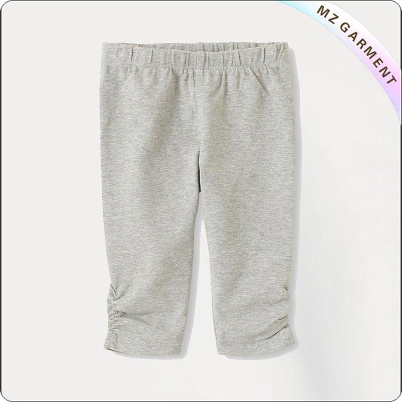 Toddler Organic Cotton Capri