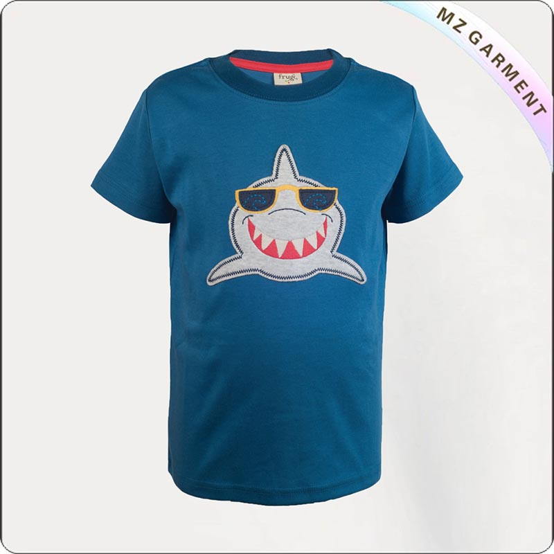 Children Environmental Benzo Blue Tee