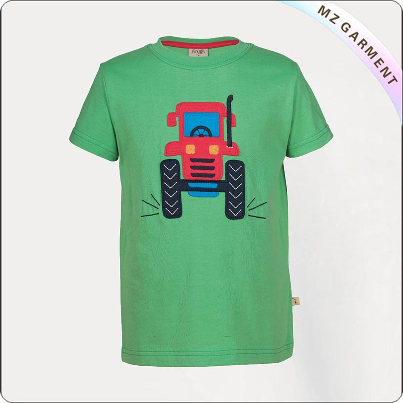 Kids Eco Apple Green T-Shirt