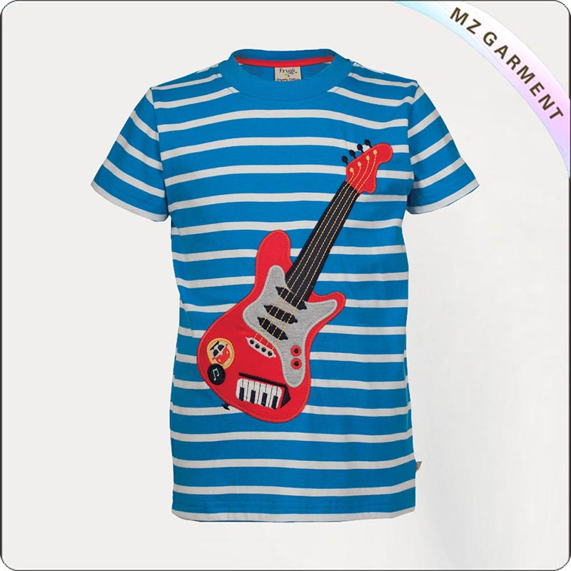 Kids Natural Sailor Tee