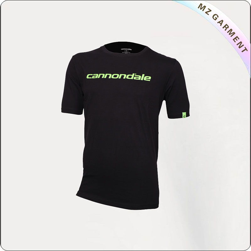 Men's Black Cycling T-Shirt