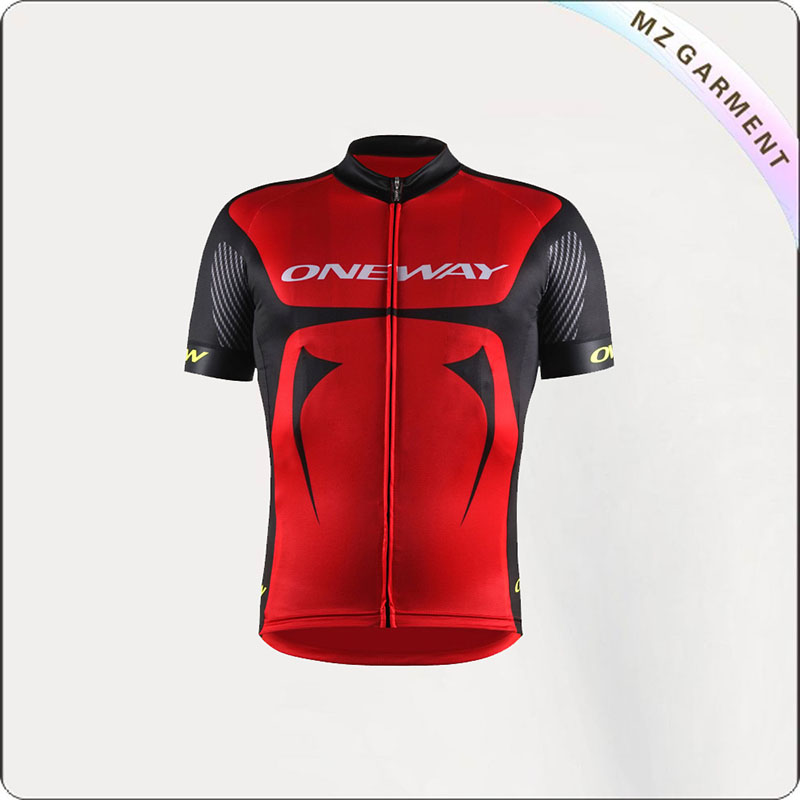 Men's Color Blocked Cycling Garment