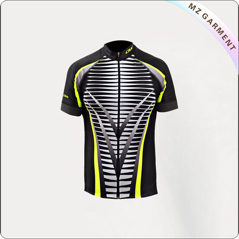 Men's Reflective Stripe Cycling Wear
