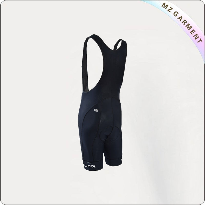 Women's Charcoal Black Cycling Bib & Brace