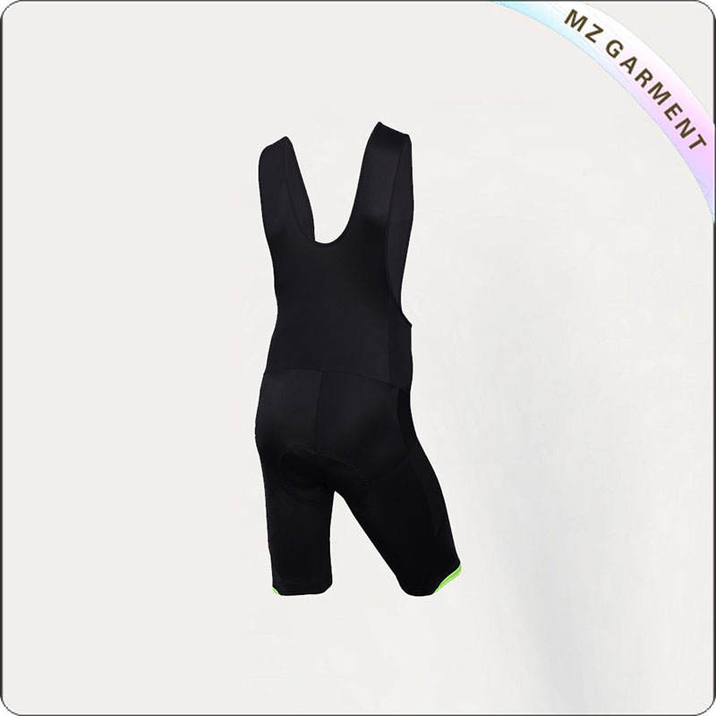Women's Pure Black Cycling Skinsuit