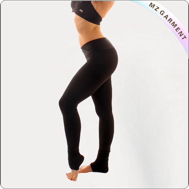 Women Balsam Green Yoga Leggings