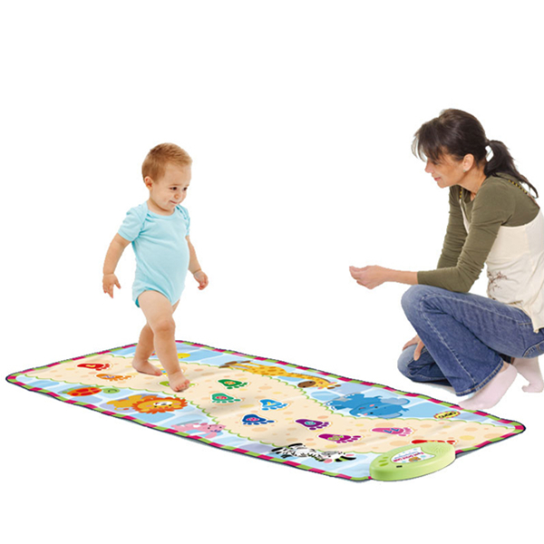 Electronic playmat for toddler