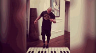The Giant Piano Played by Dwayne 'The Rock' Johnson